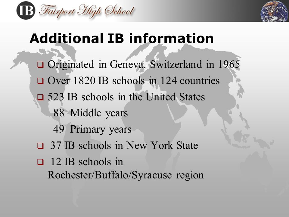 What is the IB Program.