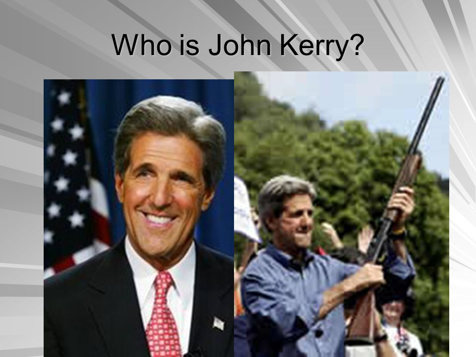 Who is John Kerry