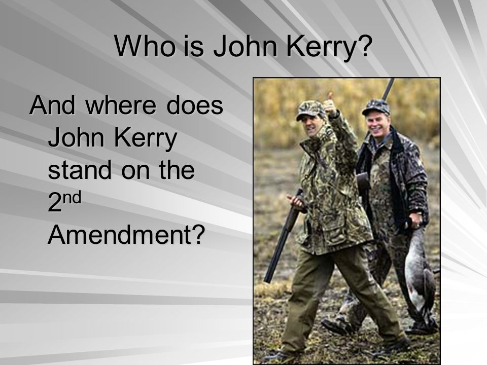 Who is John Kerry?