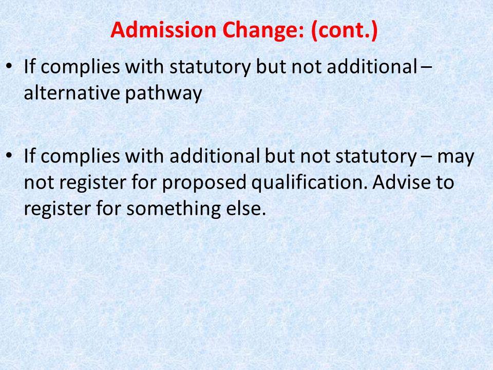 LANGUAGE REQUIREMENT BACHELOR'S DEGREE: ALL COLLEGES (NSC 50%) O levels/IGCSE: A/B or 1/2/3/4 A levels: A - E HIGCSE: 1 - 4 AS level: A – E IB (International Baccalaureate): 4 - 7