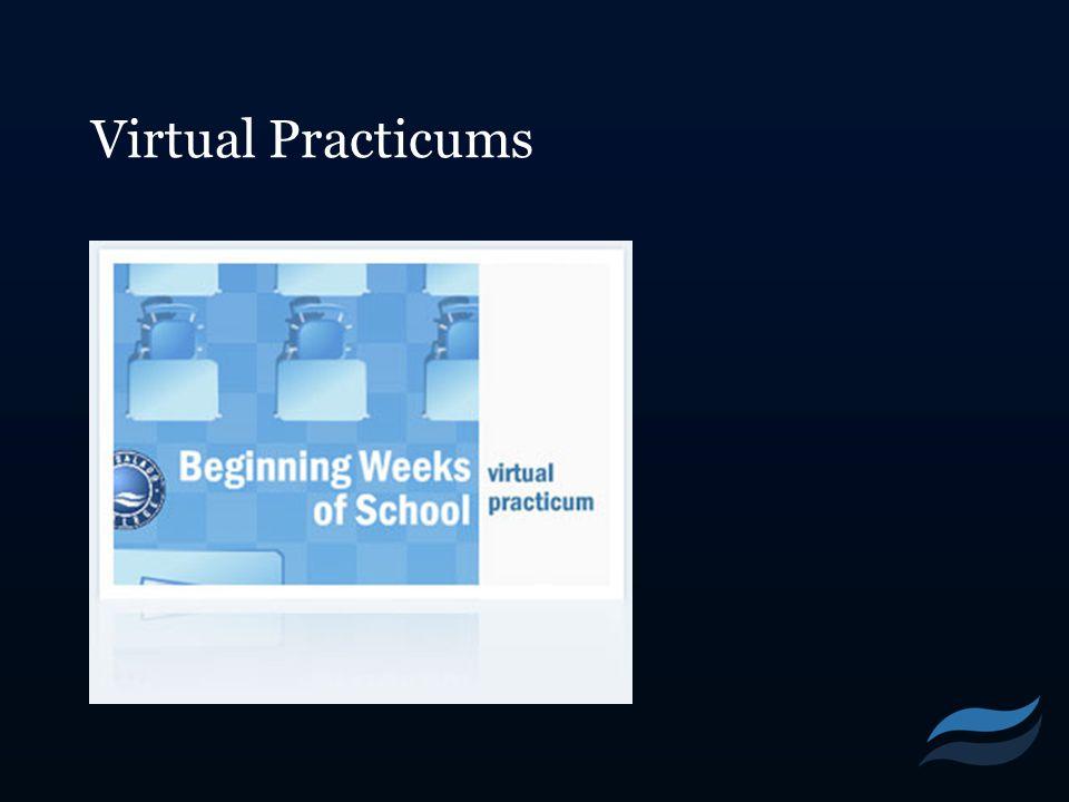 Virtual Practicums