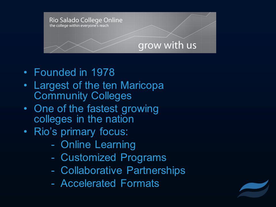 Teacher-In-Residence (TIR) Partnership Rio Salado College AZ Dept of Ed Student School District