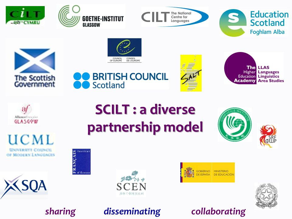 SCILT : a diverse partnership model sharingdisseminatingcollaborating