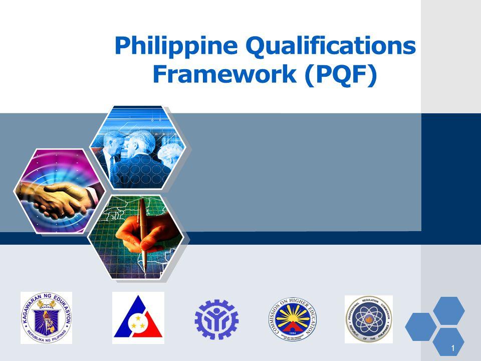 LOGO Philippine Qualifications Framework (PQF) 1