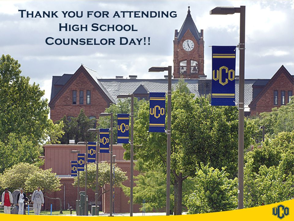 Thank you for attending High School Counselor Day!!