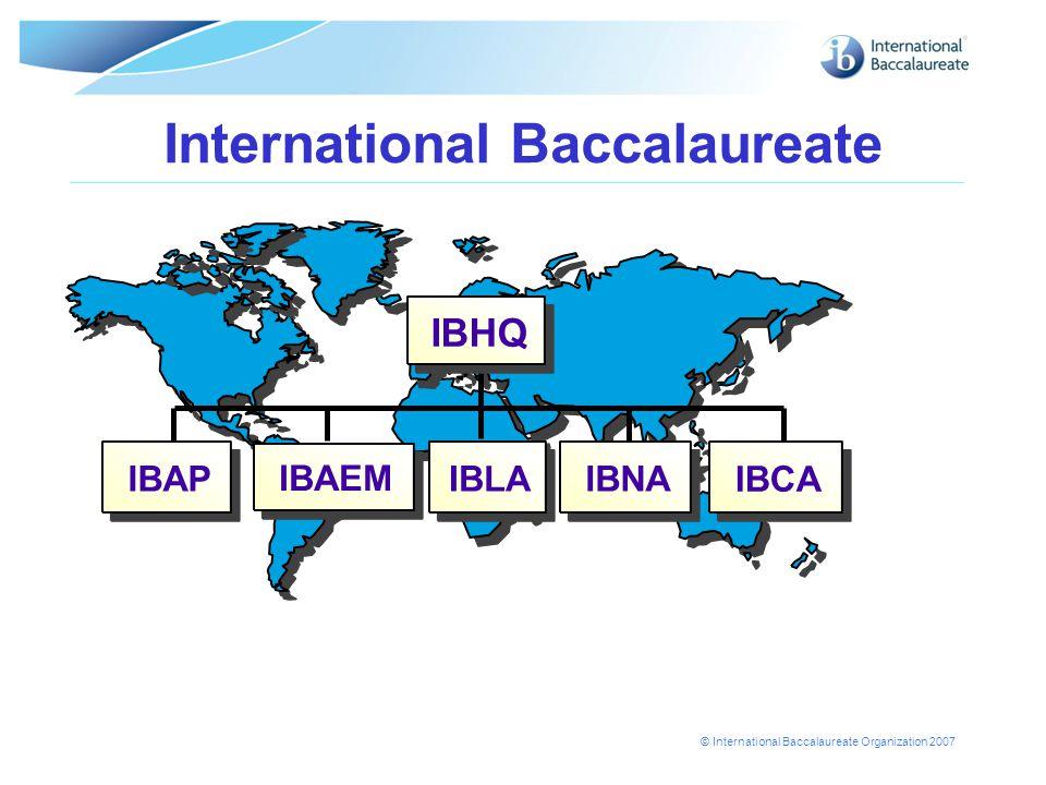 © International Baccalaureate Organization 2007 Websites  Online Curriculum Centre OCC (for teachers)  IBNET(for IB school coordinators)  EXAMNET (for IB examiners)  www.ibo.org (public website) www.ibo.org Page 14