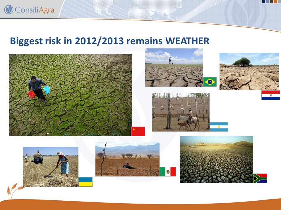 Brasil soybean export outlook and key risks 1.Planting delay – slow start to plantings in Mato Grosso.