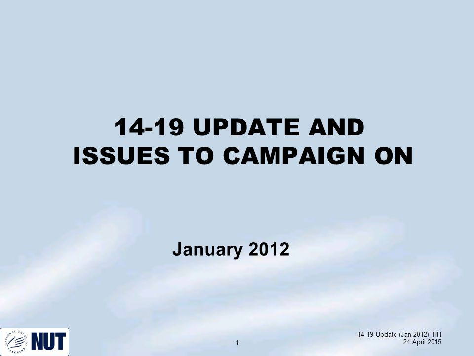 14-19 Update (Jan 2012)_HH 24 April 2015 12 More apprenticeships for young people.