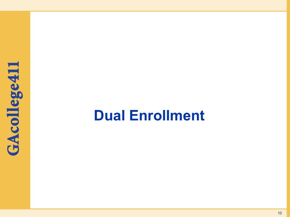 Dual Enrollment 19