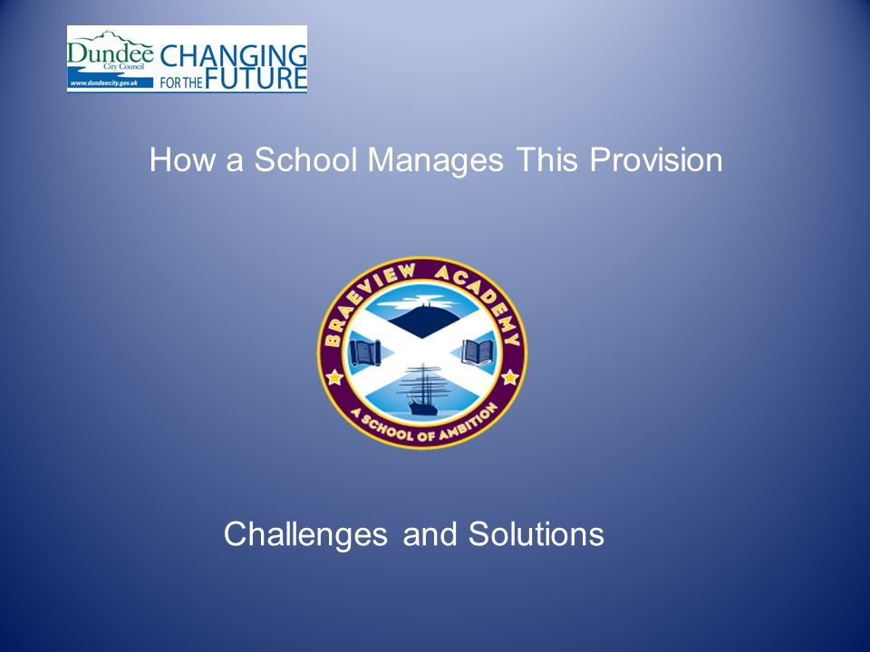 How a School Manages This Provision Challenges and Solutions