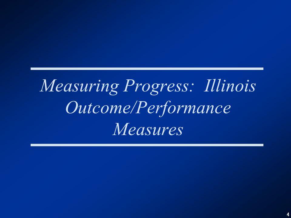 44 Measuring Progress: Illinois Outcome/Performance Measures