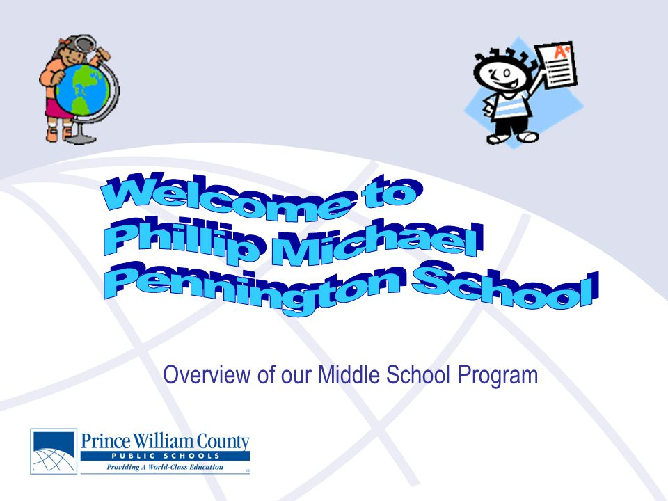 Overview of our Middle School Program