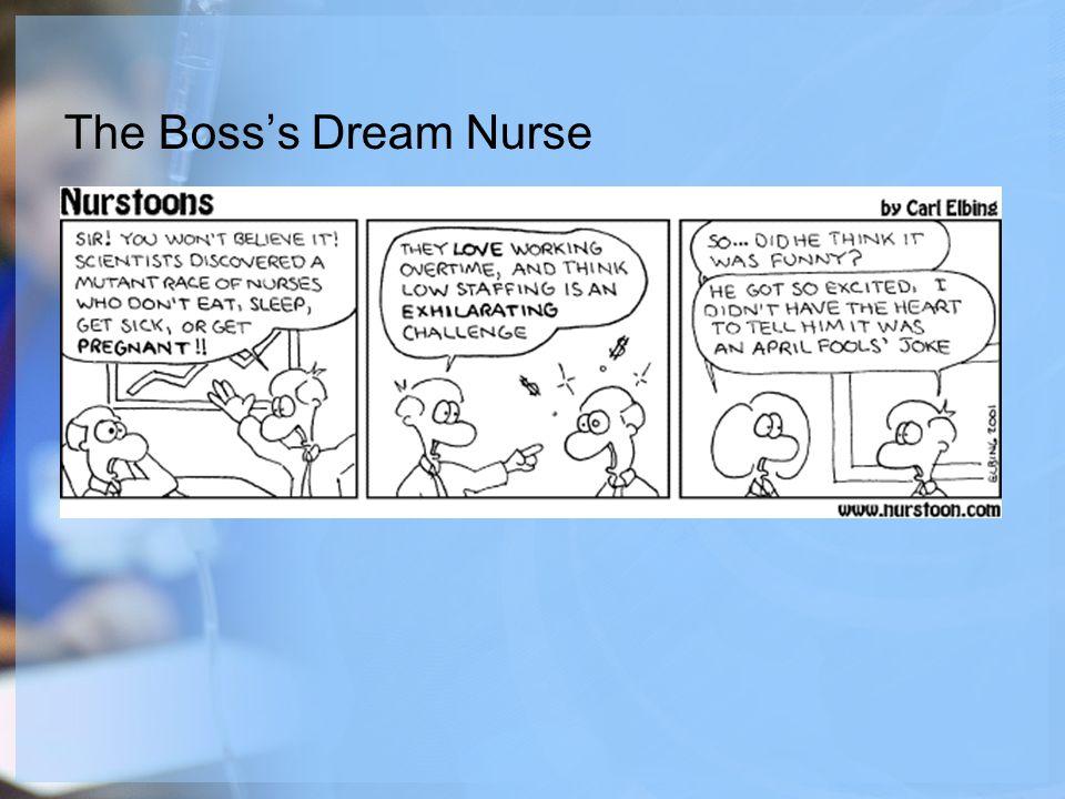 The Boss's Dream Nurse