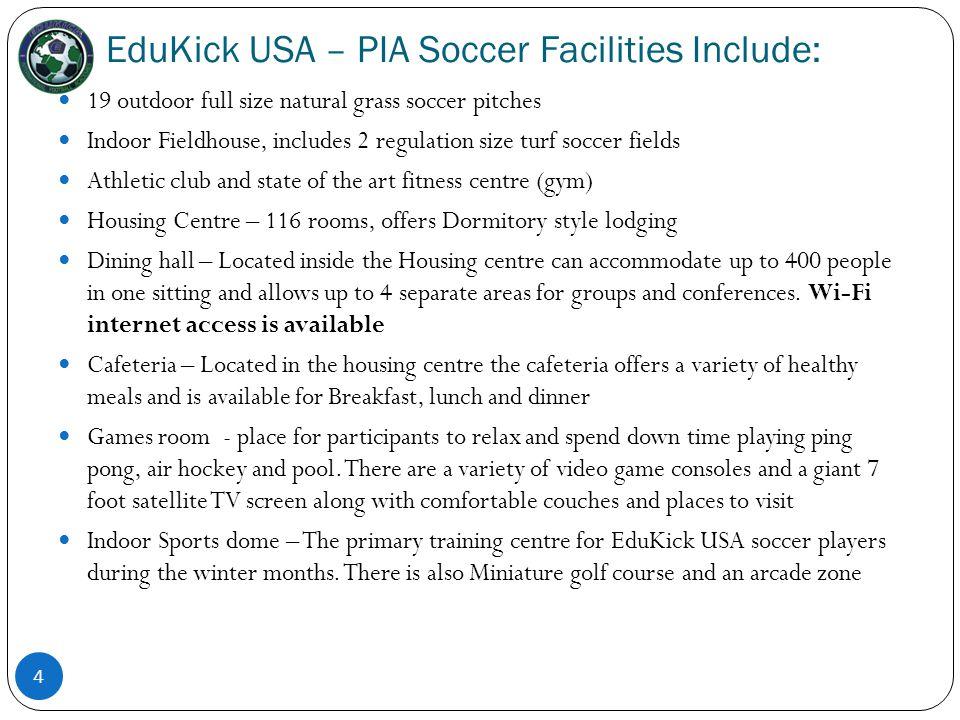 EduKick USA – PIA Playing Soccer and Studying at a U.S.