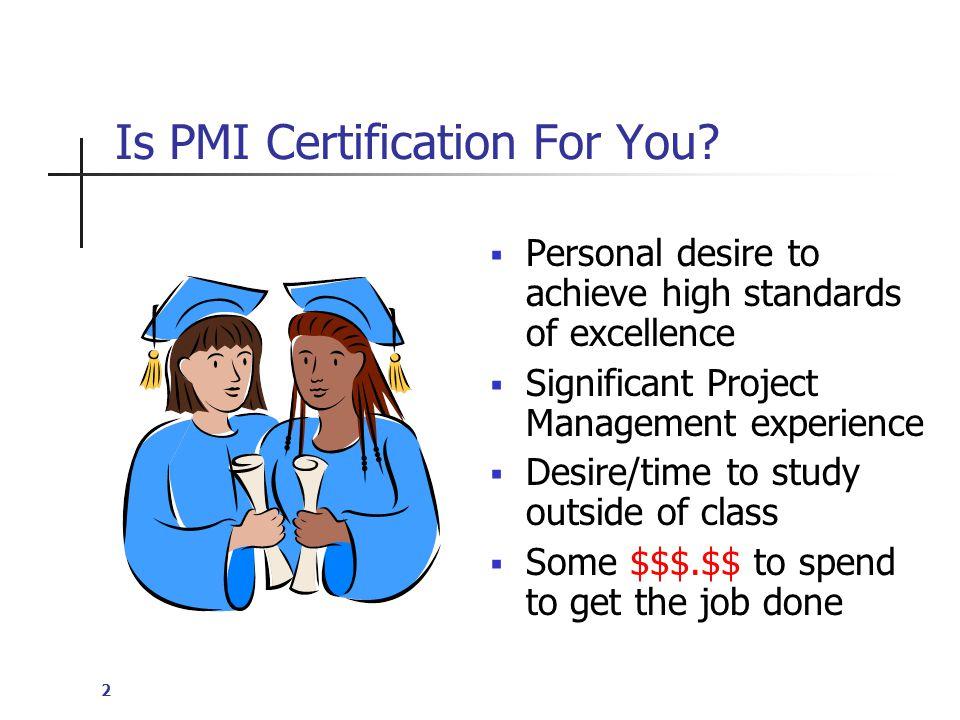 13 PMP/CAPM Certification Fees  Non PMI Members: $555  PMI Members: $405  Retest Fee (member): $275  Retest Fee (non-member): $375  PMI Membership Fee: $119 (+$10 app fee)