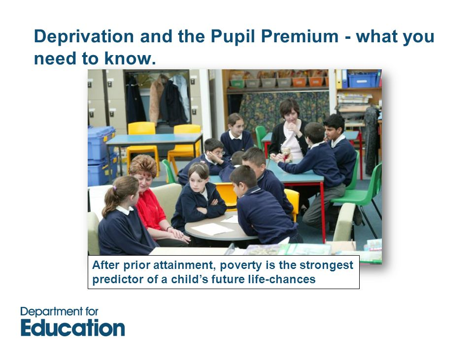 Deprivation and the Pupil Premium - what you need to know.