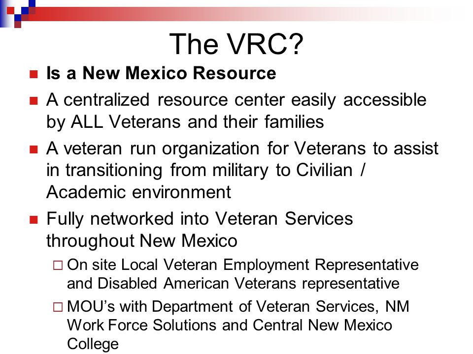 Primary Objectives Expand the accessibility of higher education to student veterans and their dependents.