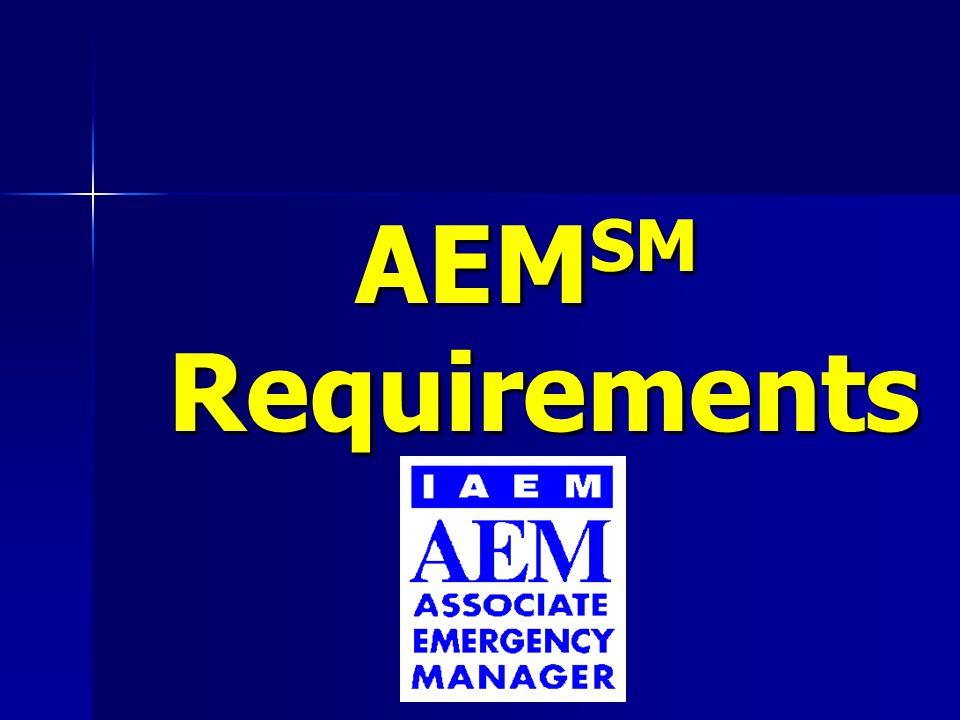 AEM SM Requirements