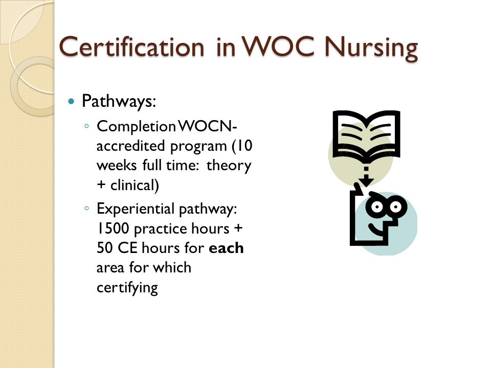 WOC Nurse Role in 2011 Wound Care primary focus for most WOC nurses ◦ Diabetic foot care ◦ Fistula management ◦ Consultation/mgmt regarding wound mgmt ◦ Pressure ulcer prevention (agency wide programs)