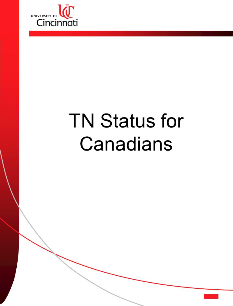 TN Status for Canadians