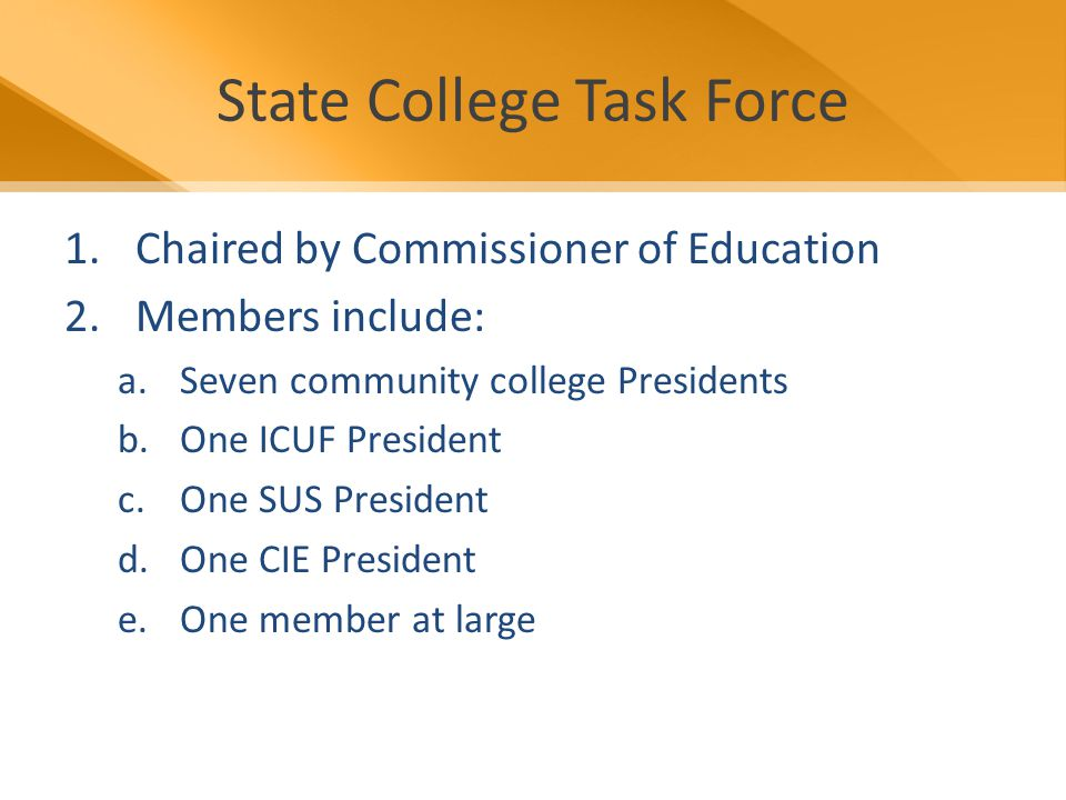 Division Projects Community College Feedback Report – Feedback from the SUS on how your students are faring – Getting approval by BOG, DCC, and General Counsel for agreement each institution will sign – Begin with drill down aspect of Articulation Report – Will gain feedback from institutions to see what more can be provided – Rollout Goal: Summer 2009
