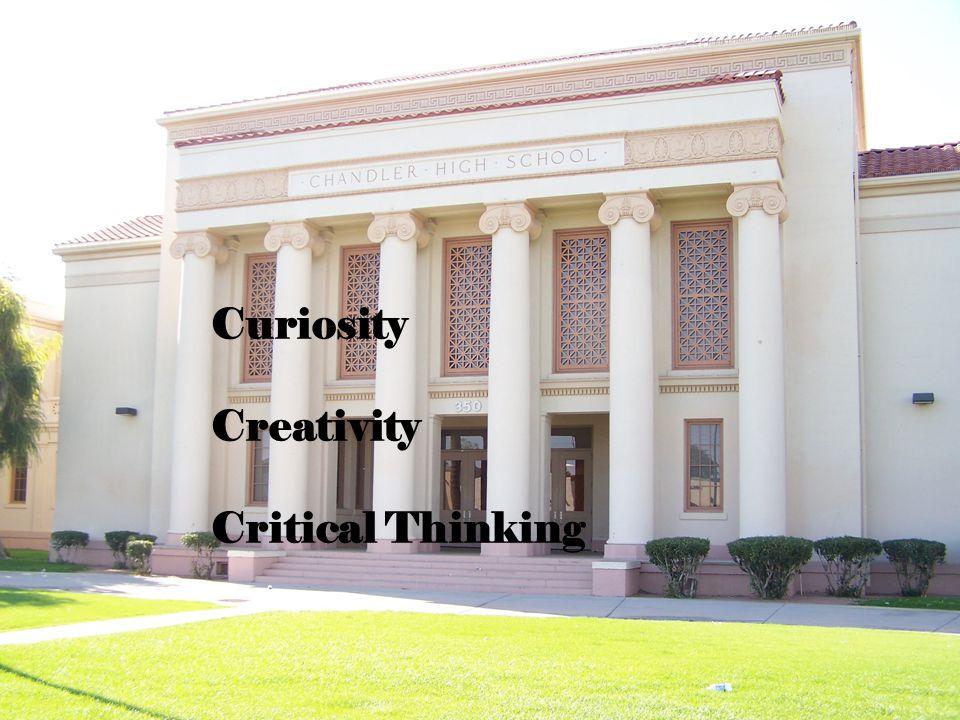 Curiosity Creativity Critical Thinking
