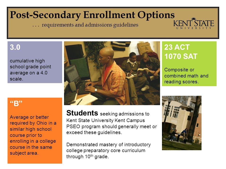 Post-Secondary Enrollment Options...