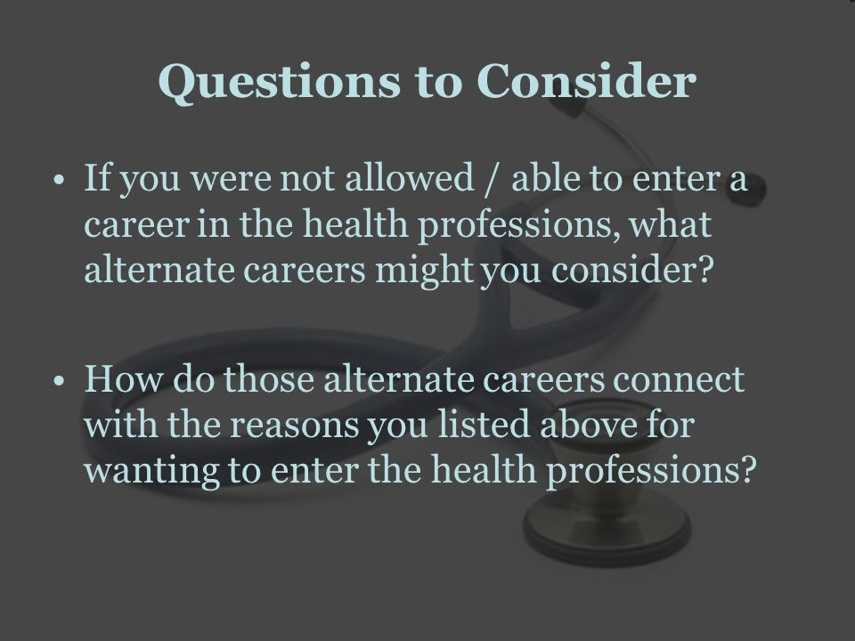 Reasons To complete your pre-health pre-requisites To enhance your academic record Other reasons?