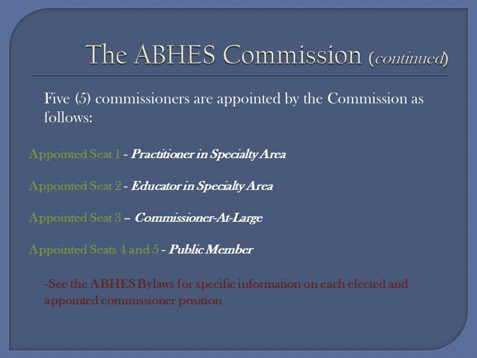The Accrediting Bureau of Health Education School www.abhes.org