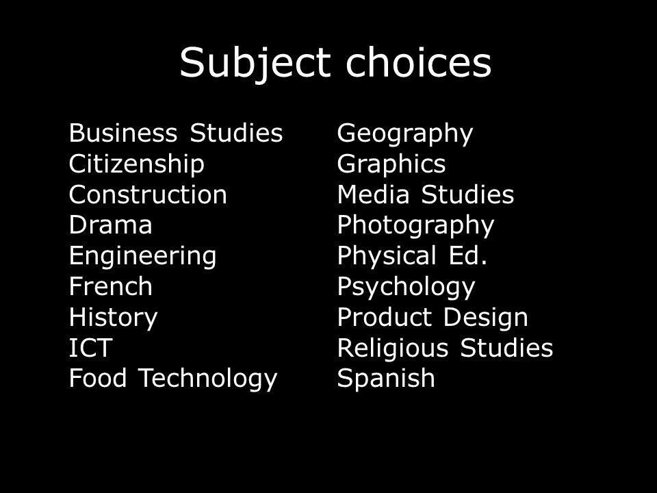 More information…. Website – Information – Curriculum