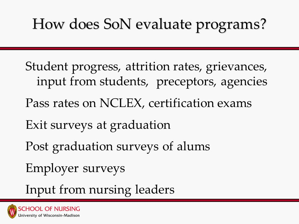 How does SoN evaluate programs.