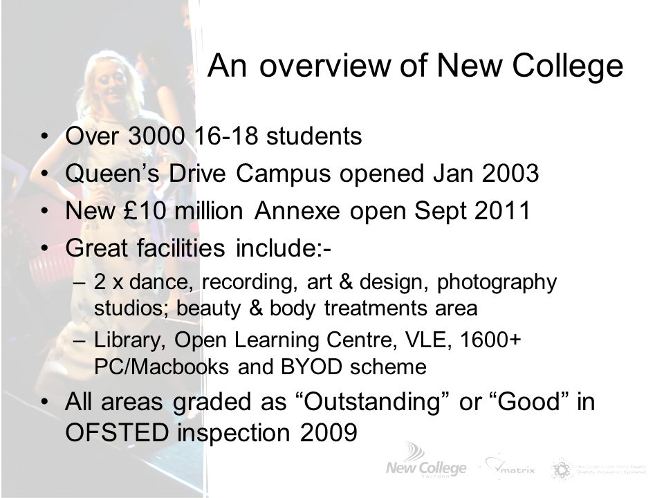 What support and opportunities can I expect from New College.