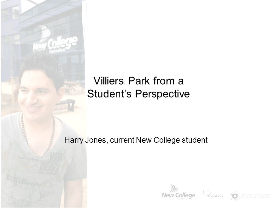 Villiers Park from a Student's Perspective Harry Jones, current New College student
