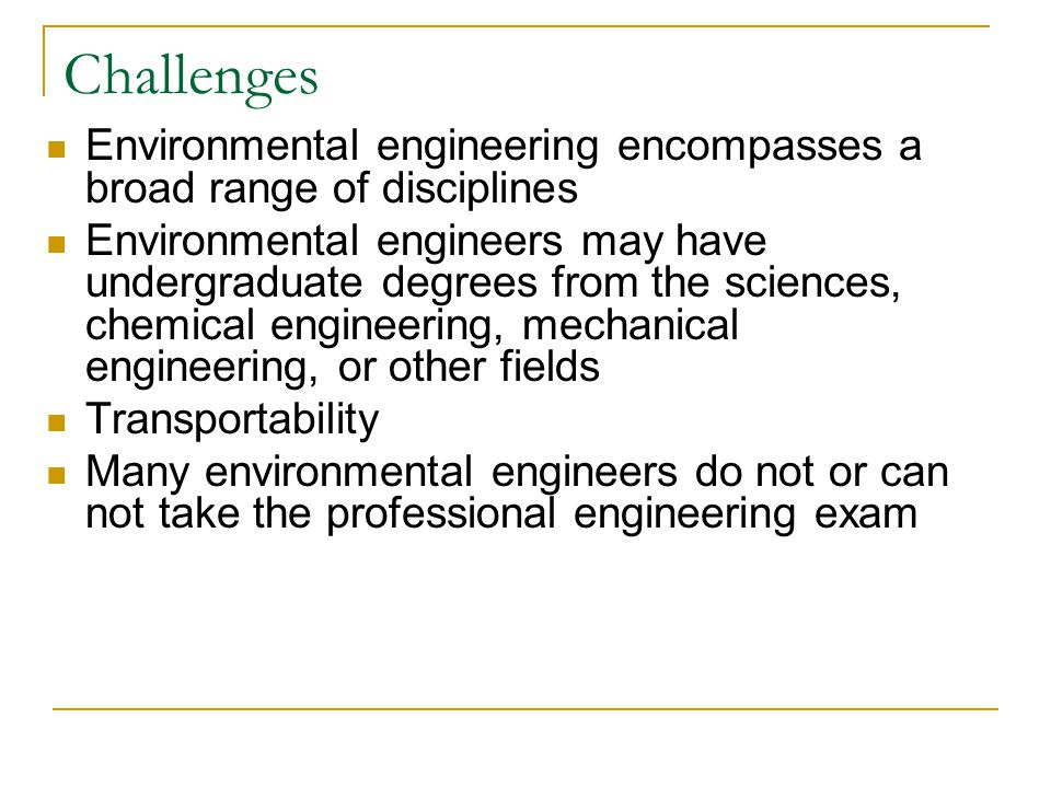 Conclusions The EE BOK should serve as an inspiration to those studying, teaching, and practicing environmental engineering Translation into curriculum will be critical to success