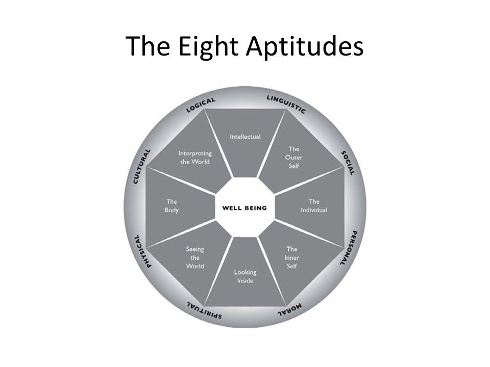The Eight Aptitudes