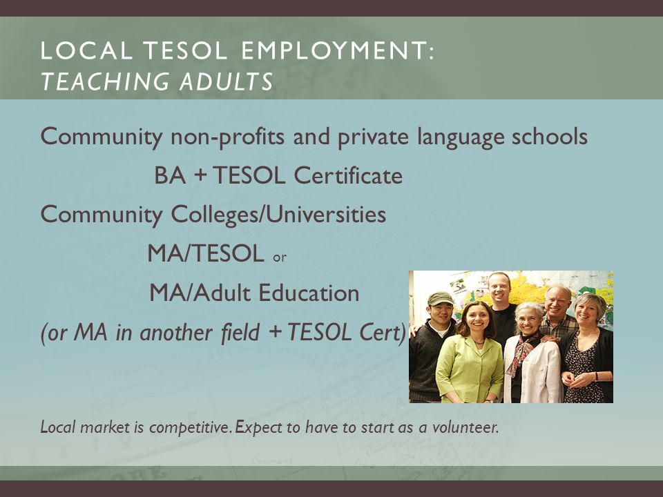 HOW DOES S-TESL HELP ME FIND A JOB?HOW DOES S-TESL HELP ME FIND A JOB.