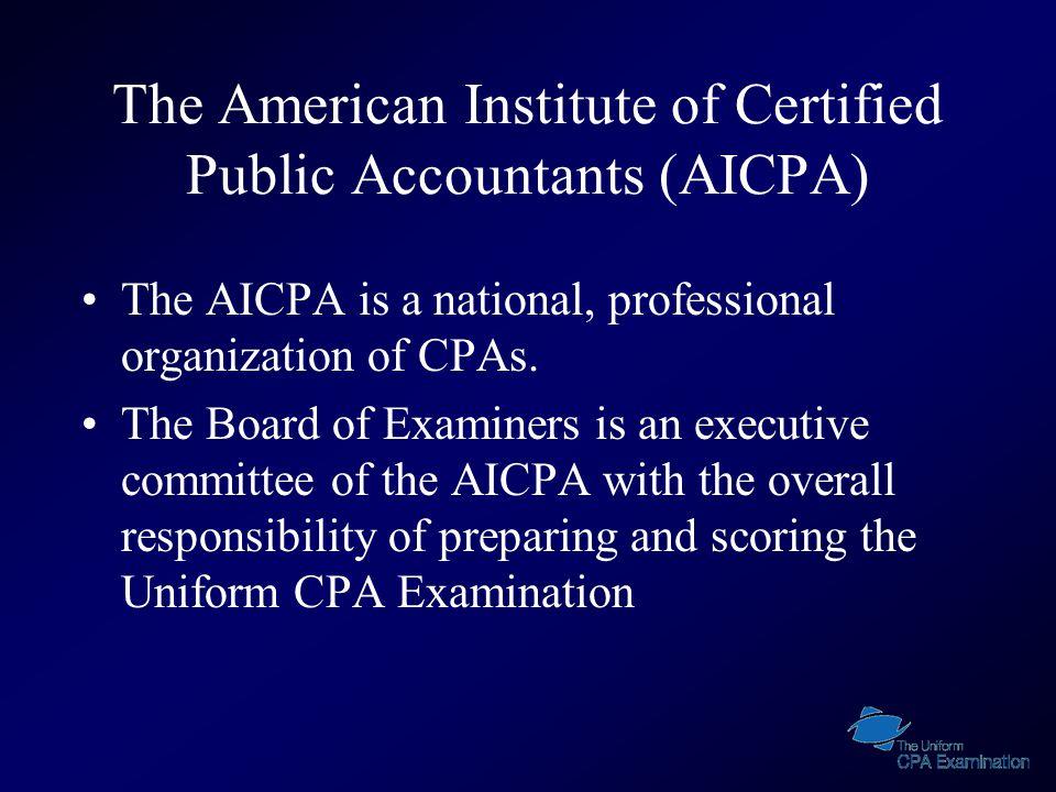 Important Numbers 1-800-CPA-EXAM (CPAES) 1-866- MY- NASBA ( NASBA) 1-800-580-9648 (Prometric Scheduling) 1-800-347-3781 (Prometric Security) 1-800-853-6769 (Prometric Customer Care) 201-938-3443 (AICPA Exam Team Fax)