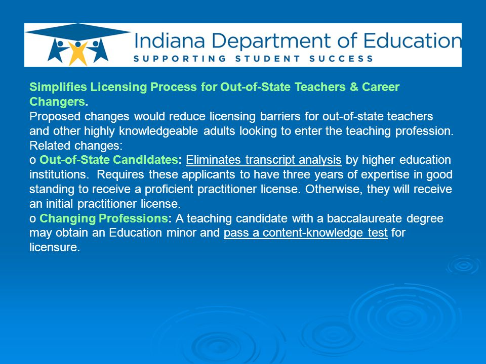 Gives Local Administrators Greater Role in Professional Development Decisions.