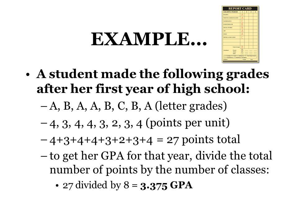 EXAMPLE...