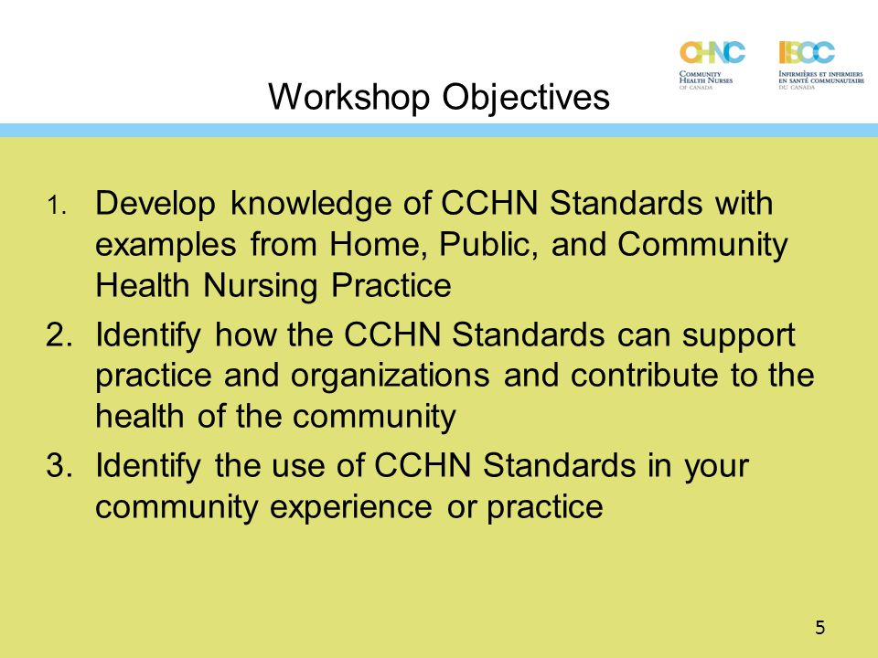 The Community Health Nursing Process Apparent in the order of indicators in each Standard Assessment Planning Intervention (action) Evaluation 16