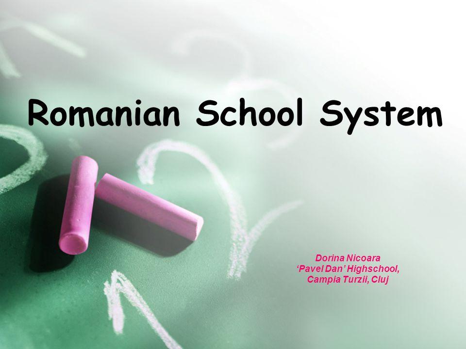 Romanian School System Dorina Nicoara 'Pavel Dan' Highschool, Campia Turzii, Cluj