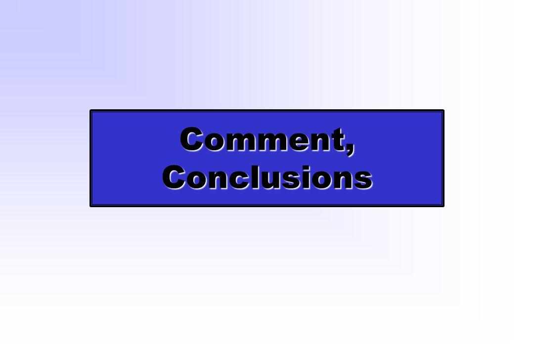 Comment, Conclusions