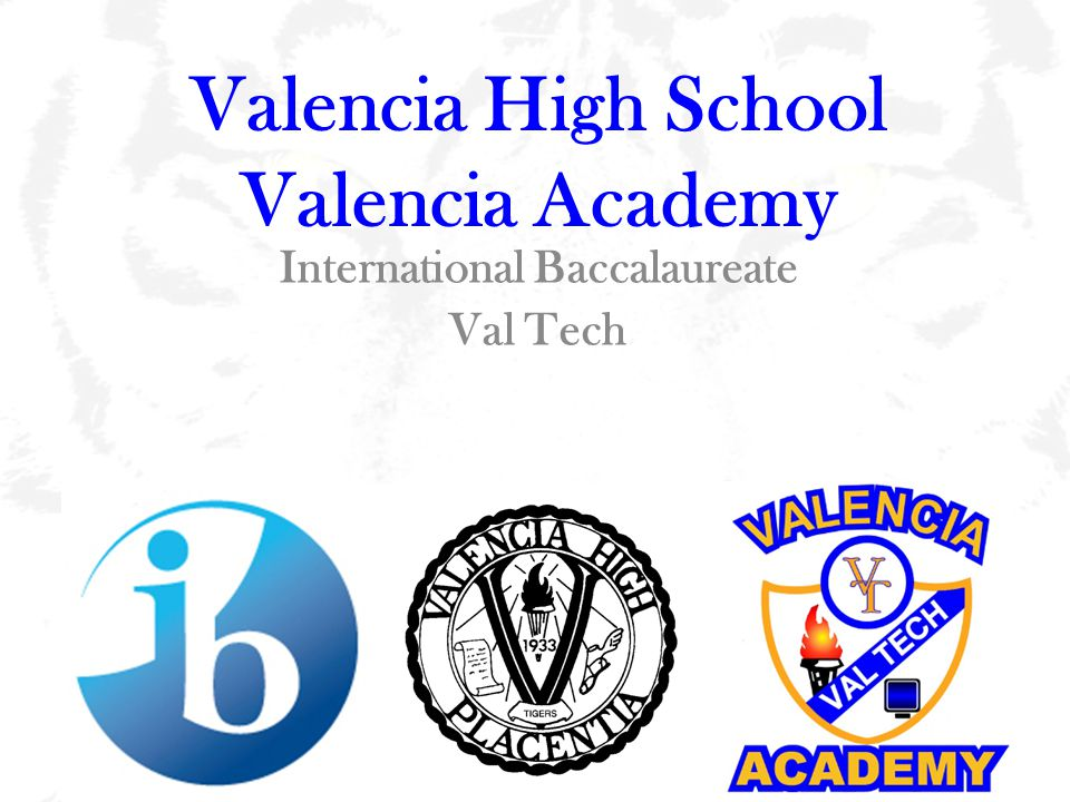 Welcome to Valencia Academy.Mr.