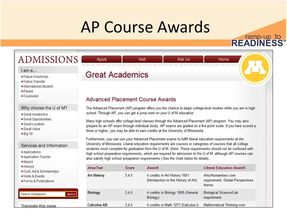AP Course Awards