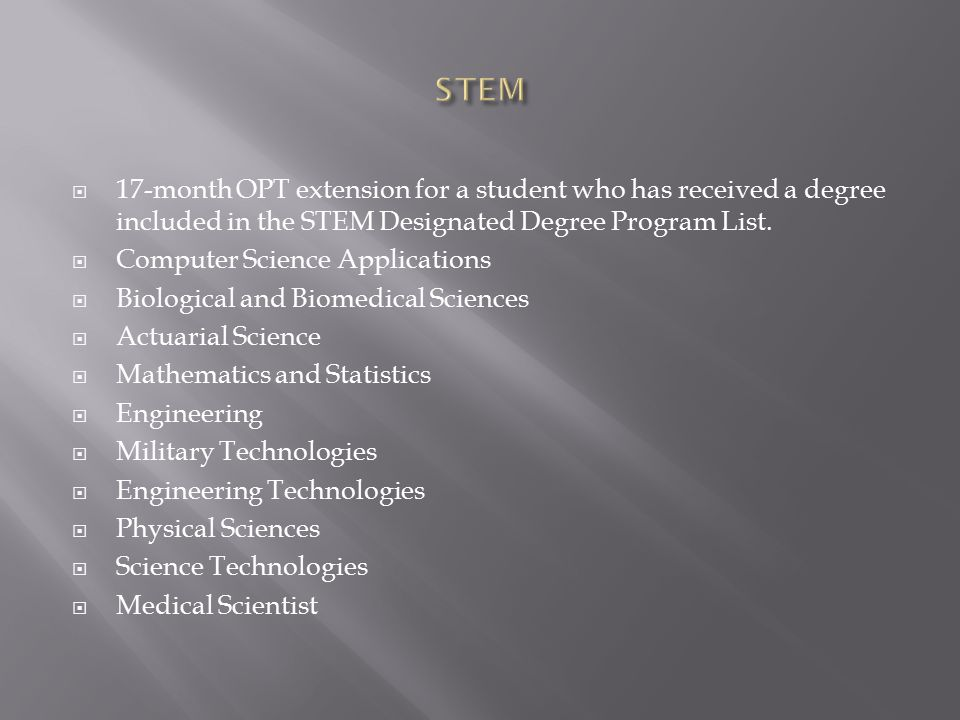  Must demonstrate international recognition for outstanding achievements in a particular academic field.