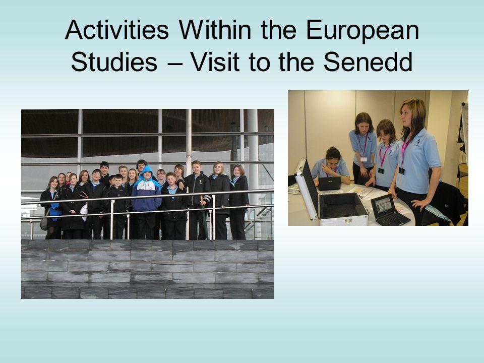 Activities Within the European Studies – Visit to the Senedd Senedd