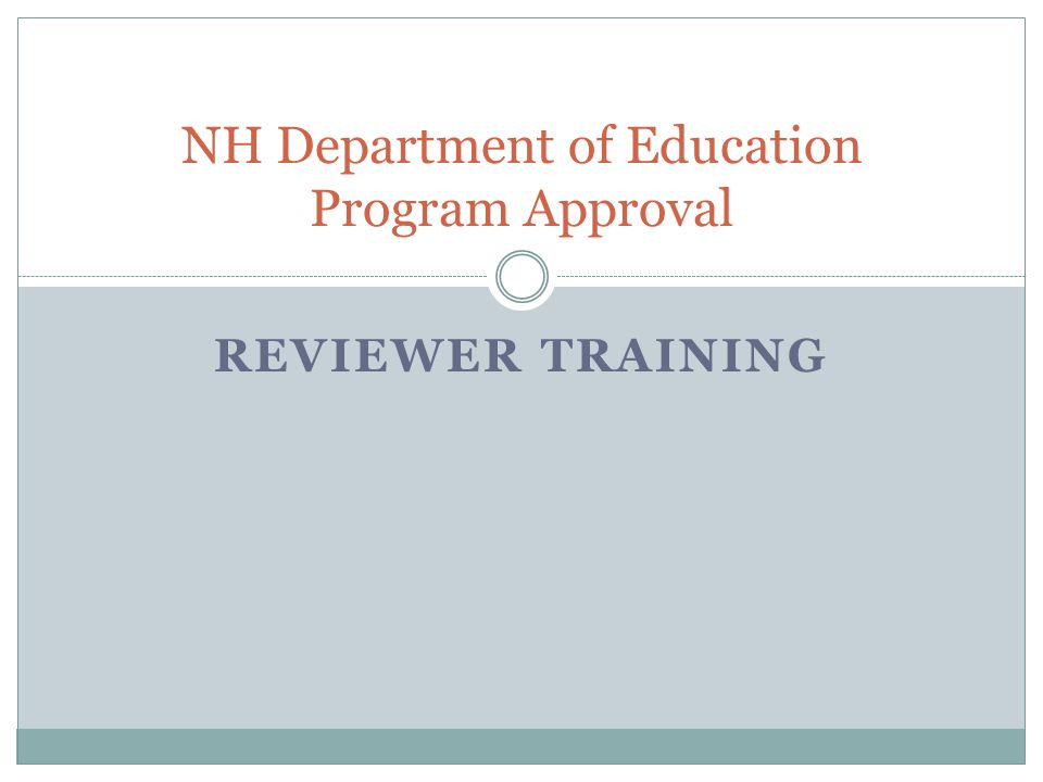 Professional Educator Preparation Program Approval The purposes of professional educator preparation program approval are to ensure that all future educators in New Hampshire are highly qualified and well prepared to serve all students effectively.