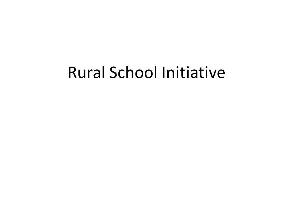 Rural School Initiative