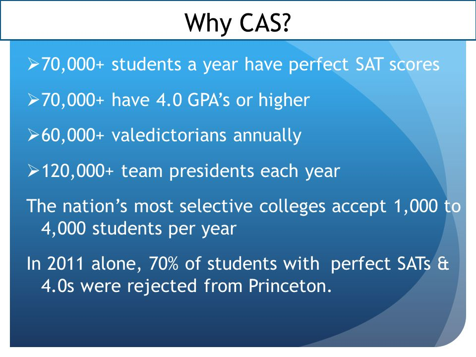 How is CAS different from community service.