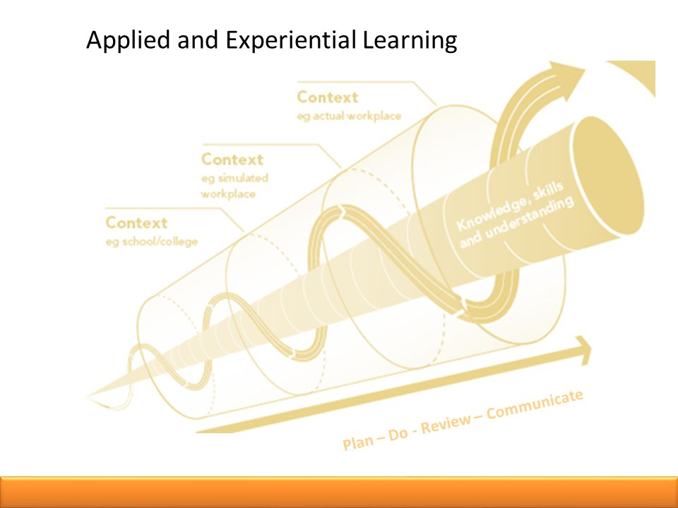 Applied and Experiential Learning Plan – Do - Review – Communicate